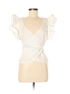 Lulumari Short Sleeve Blouse Size M