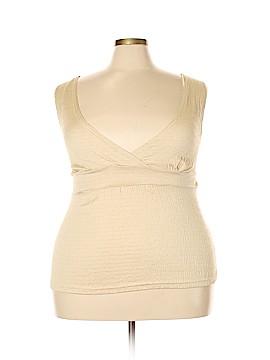 Jamie Nicole Collection Sleeveless Top Size 3X (Plus)
