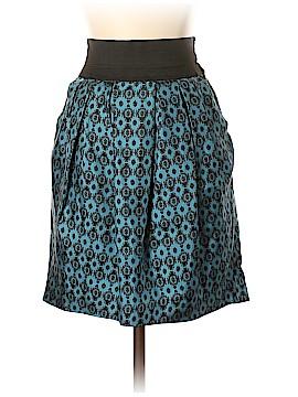 Elizabeth and James Silk Skirt Size XS