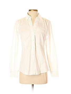 Foxcroft Long Sleeve Button-Down Shirt Size 2