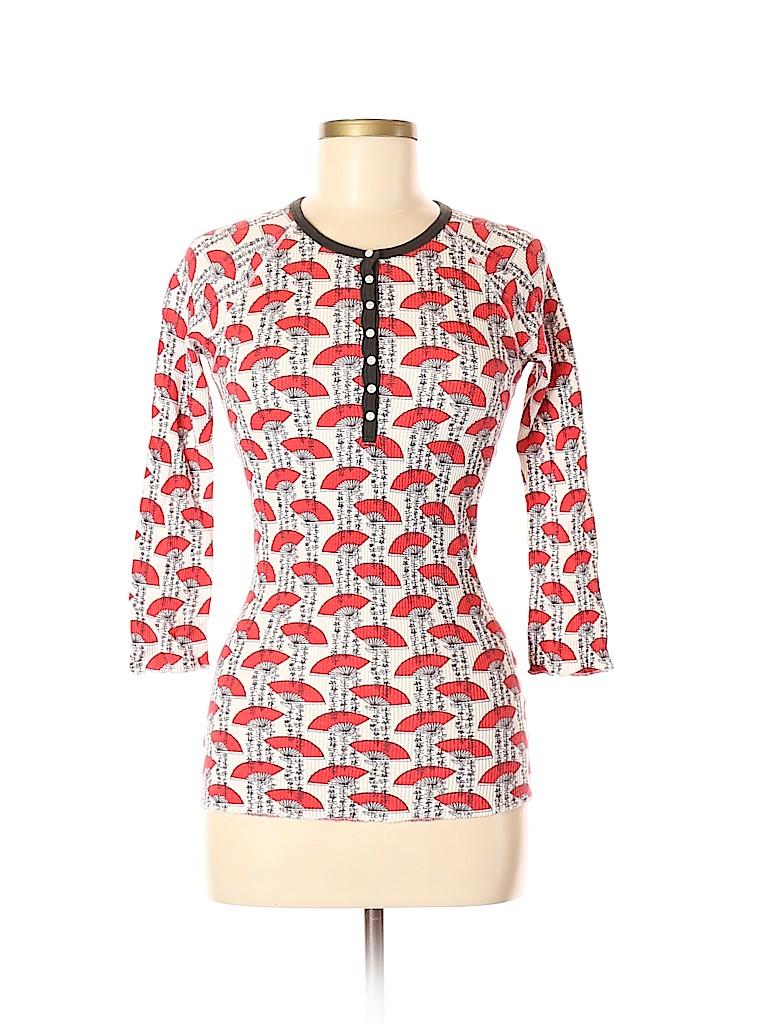 Lucky Women 3/4 Sleeve Henley Size M