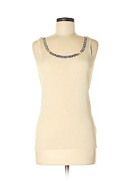 Nic + Zoe Sleeveless Silk Top Size M