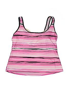 Caribbean Joe Swimsuit Top Size 16