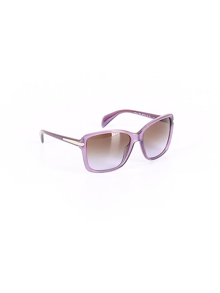 a3b0faf2c9f Prada Solid Light Purple Sunglasses One Size - 59% off