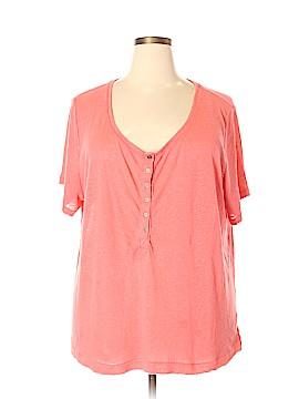 Mudd Short Sleeve Button-Down Shirt Size 2X (Plus)