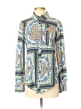 One Teaspoon Long Sleeve Button-Down Shirt Size S