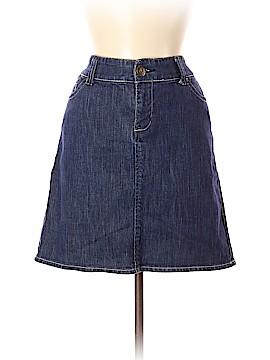 New York & Company Denim Skirt Size 8