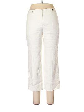 White House Black Market Linen Pants Size 6