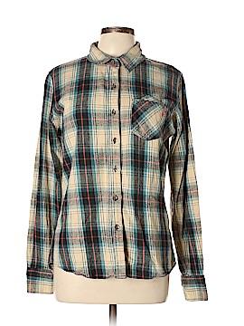 Volcom Long Sleeve Button-Down Shirt Size XL