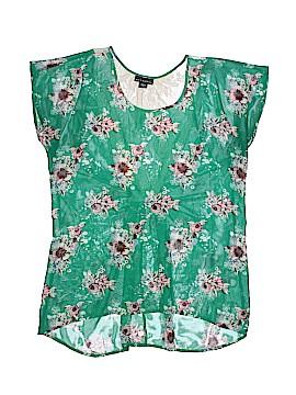 Metaphor Short Sleeve Blouse Size L