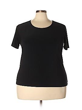 Susan Lawrence Short Sleeve T-Shirt Size 3X (Plus)
