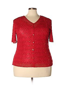 Belle Amie Short Sleeve Top Size 3X (Plus)