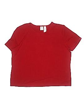 Emma James Short Sleeve T-Shirt Size 2X (Plus)