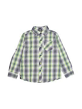 Hawk Long Sleeve Button-Down Shirt Size 5 - 6