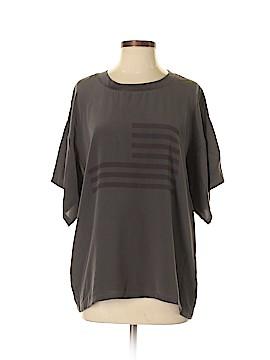 William Rast Short Sleeve Silk Top Size XS