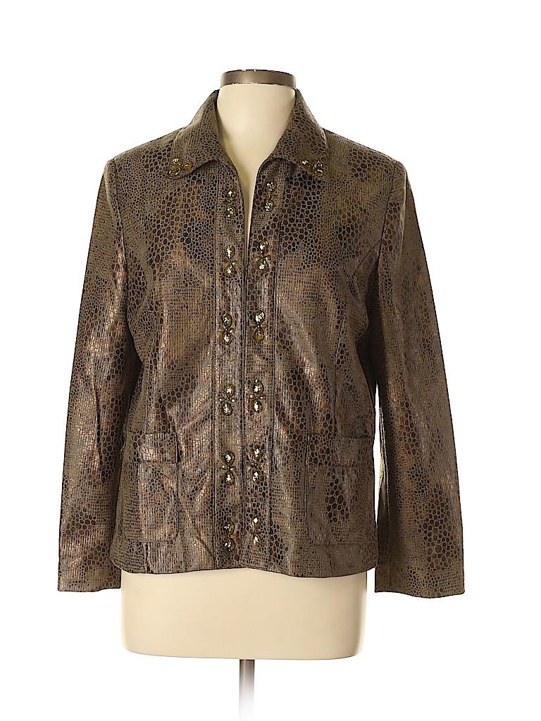 Alfred Dunner Women Jacket Size 12 (Petite)