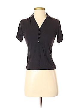 Sisley Short Sleeve Henley Size S