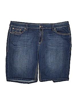 Melissa McCarthy Seven7 Denim Shorts Size 26 (Plus)