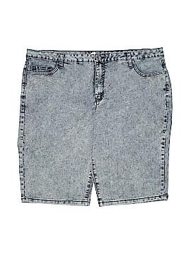 Denim 24/7 Denim Shorts Size 20 (Plus)