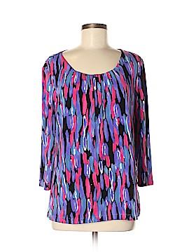 Laura Ashley 3/4 Sleeve Blouse Size M