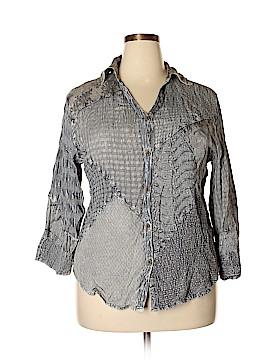 Sacred Threads Long Sleeve Blouse Size 1X (Plus)