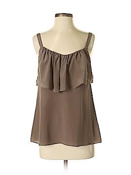 Eloise Sleeveless Silk Top Size S