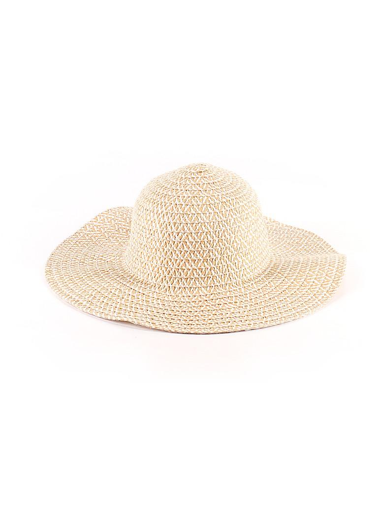Walmart Solid Tan Sun Hat One Size - 50% off  ec40e687343