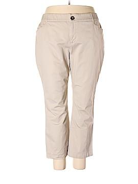 Cj Banks Khakis Size 22W  Petite (Plus)