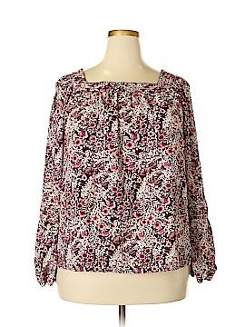 Lauren Conrad Long Sleeve Blouse Size XXL