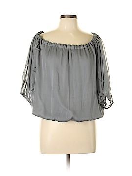 Ryu 3/4 Sleeve Silk Top Size L