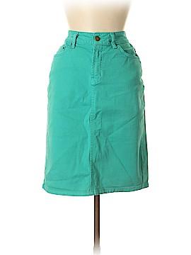 Garnet Hill Denim Skirt Size 6