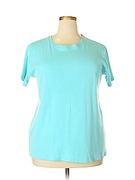 Laura Ashley Short Sleeve T-Shirt Size 3X (Plus)