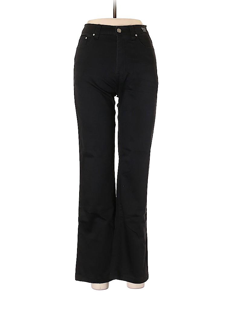 5a3ab71a452a Versace Jeans Couture 100% Cotton Solid Black Jeans 28 Waist - 81 ...