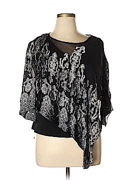 Donna Ricco 3/4 Sleeve Blouse Size 14
