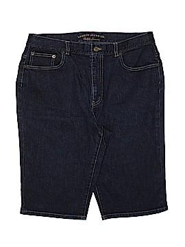 Lauren by Ralph Lauren Denim Shorts Size 12