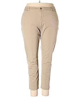 Faded Glory Khakis Size 20W (Plus)