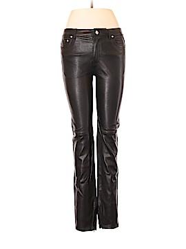 BLK DNM Leather Pants 28 Waist