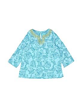 Calypso St. Barth Long Sleeve Blouse Size 9 mo