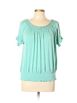American Rag Cie Short Sleeve Top Size XL