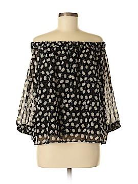 Cynthia by Cynthia Rowley Long Sleeve Blouse Size M