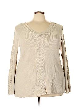 Verve Ami Pullover Sweater Size 2X (Plus)