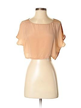 Piko 1988 Short Sleeve Silk Top Size S