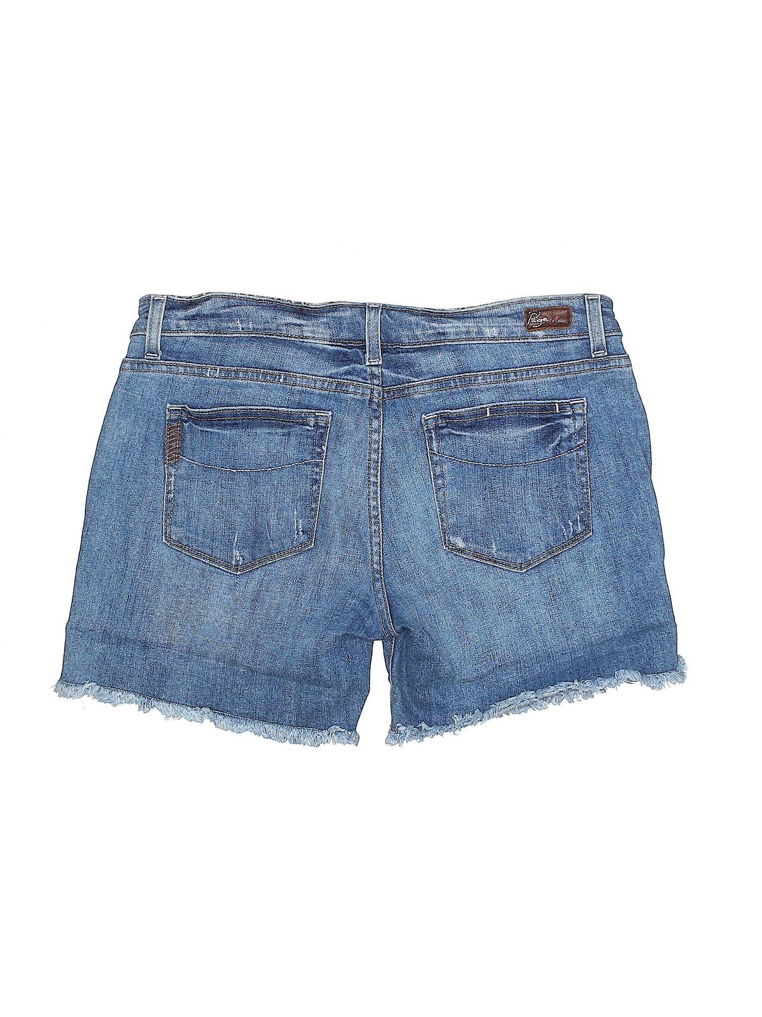 Paige Boutique Shorts leisure Boutique Paige Denim Denim leisure Shorts w6HnWqqZ