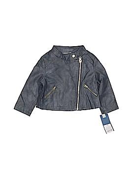 Genuine Kids from Oshkosh Faux Leather Jacket Size 12 mo