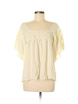 One World Short Sleeve Blouse Size M