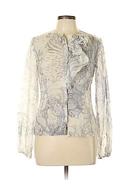 Les Copains Long Sleeve Blouse Size 42 (FR)