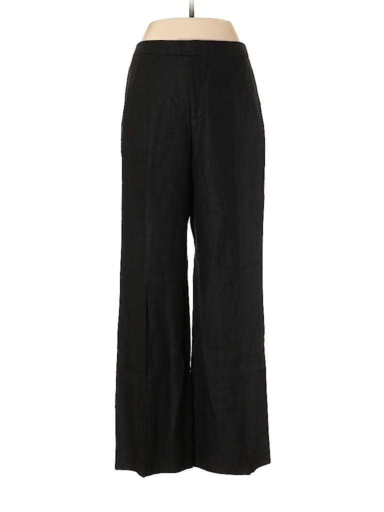 Ellen Tracy Women Linen Pants Size 10