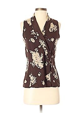 Dana Buchman Sleeveless Silk Top Size 4 (Petite)