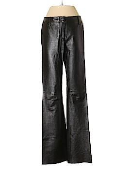Max Studio Leather Pants Size 2