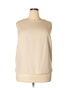 Michele Sleeveless Blouse Size 3X (Plus)